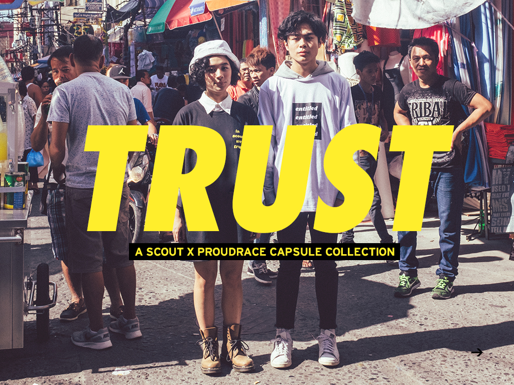 "The Scout x Proudrace ""Trust"" Collection Wave One Look Book"