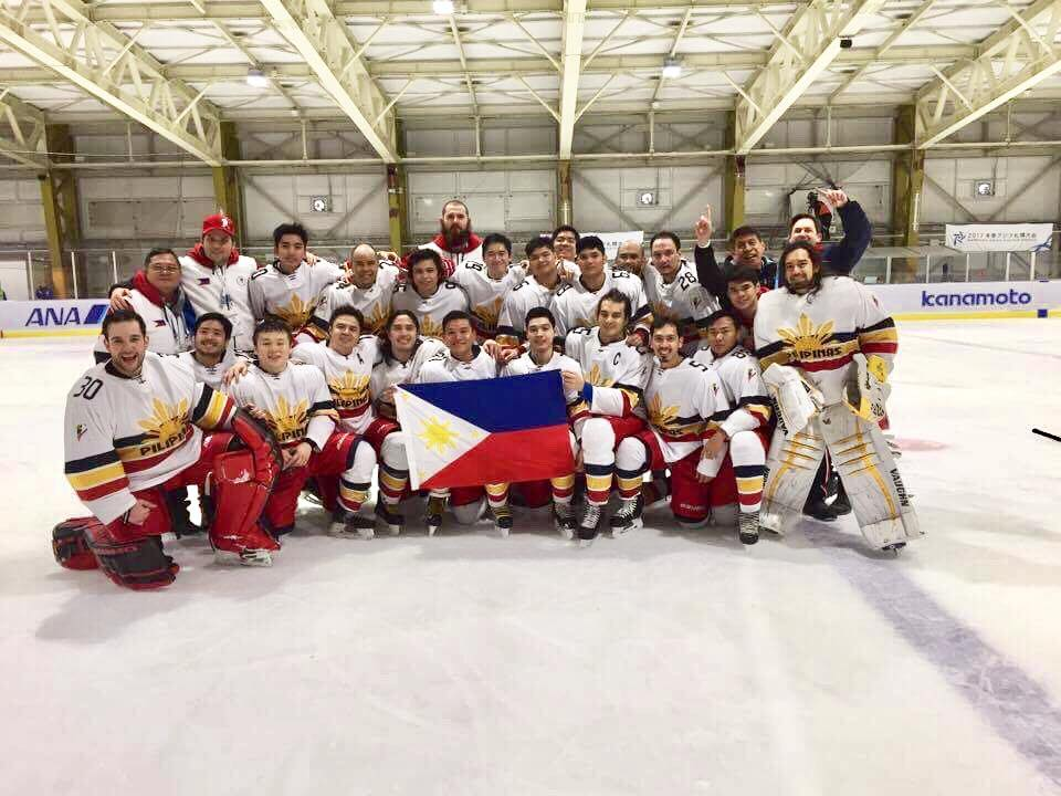 The Philippines Won A Medal In Ice Hockey At the 2017 Asian Winter Games