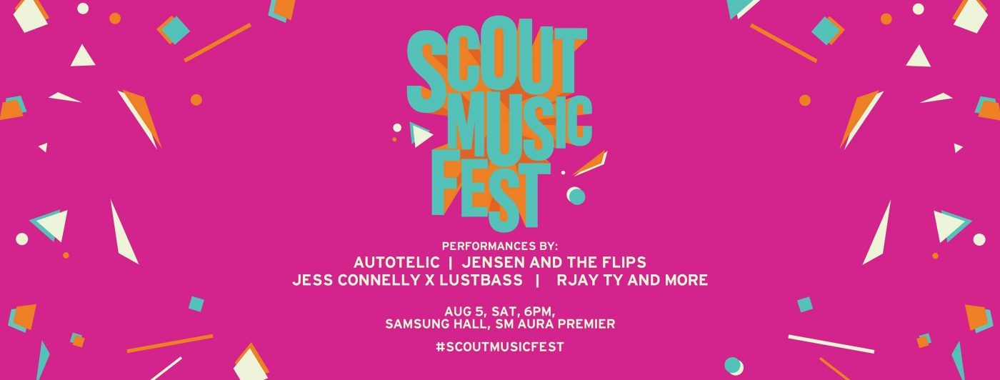 Vibe with us at this year's Scout Music Fest