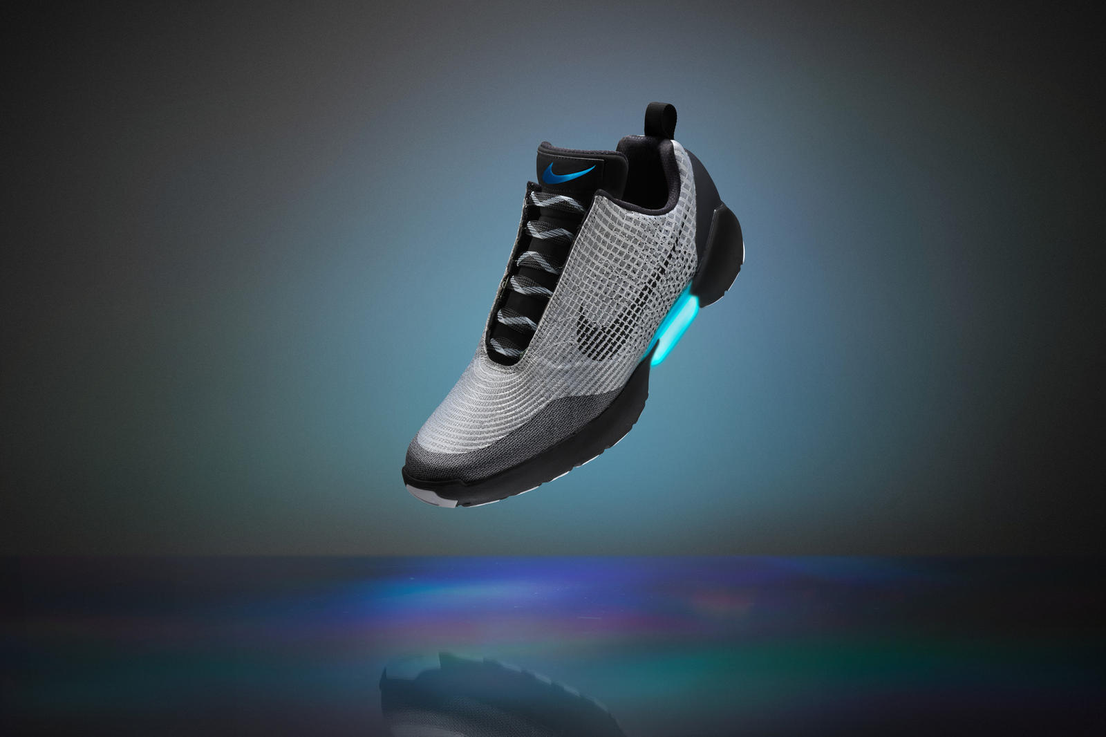 They Really Just Did Back to the Future-Style Self-Lacing Shoes