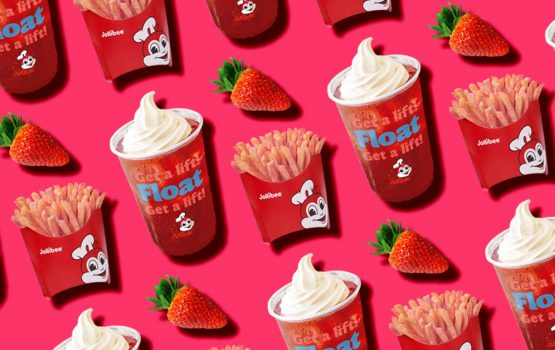 Jollibee just released strawberry flavored fries and it's blowing our minds
