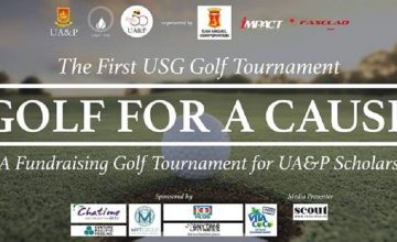 UA&P is calling out golfers who want to help almost graduates graduate