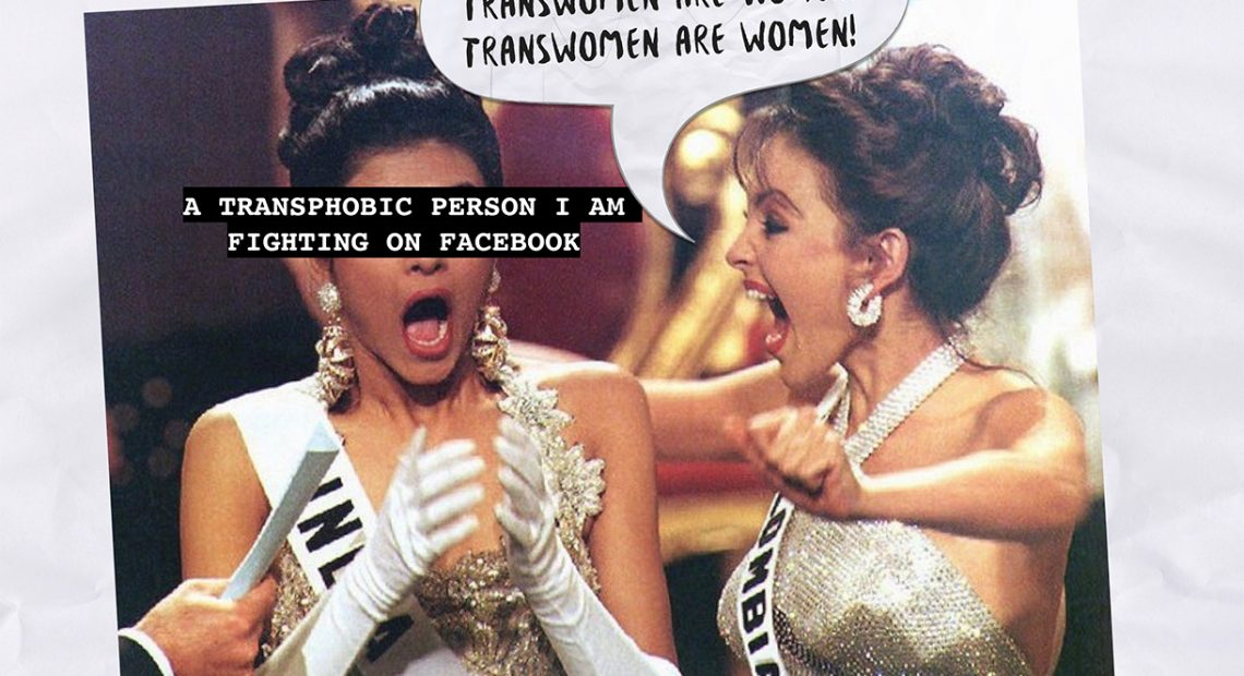 This queer artist published a zine on transphobia in Miss Universe 2018