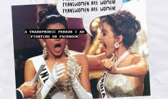 This artist published a zine on transphobia in Miss Universe…