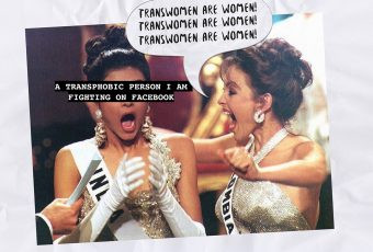 This artist published a zine on transphobia in Miss Universe 2018