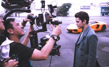 "Andrei Suleik shares BTS photos for James Reid's ""The Life"" music video"