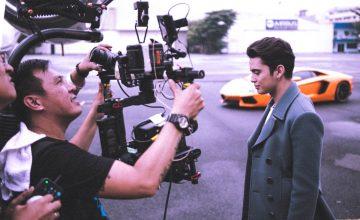 "Andrei Suleik shares BTS photos for James Reid's ""The Life"" music video"
