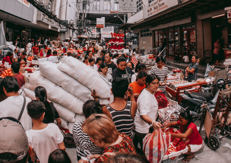17-year-old James Saluta captures trash-filled crowded streets of Divi as we see it all