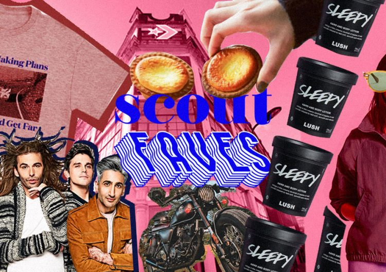 Last week's #ScoutFaves: Ronnie & Joe, LUSH, BAKE cheese tarts, The Artisan, and more