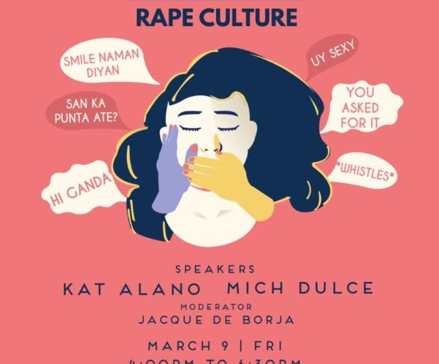 Educate yourself on rape culture at the next Preen Sessions