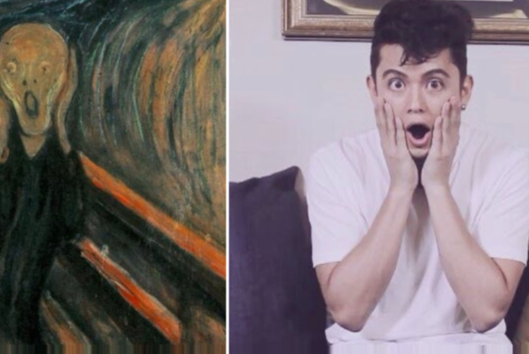 We talked to the Twitter user pairing James Reid and Nadine Lustre with classical art