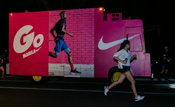 We spent an evening chasing a party bus with the Nike+ Run Club