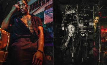 Take a gritty night stroll with this Fight Club-inspired editorial