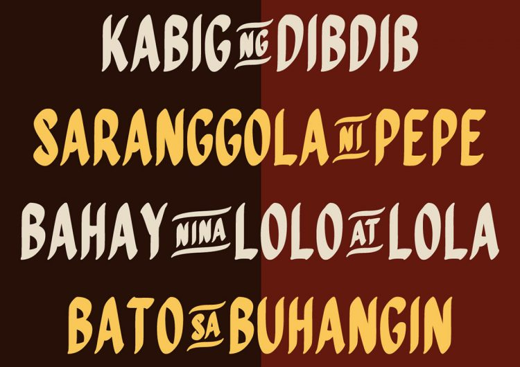 This graphic designer turned jeepney art into a downloadable font