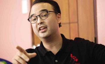 Alan Cayetano is triggered by Facebook meme