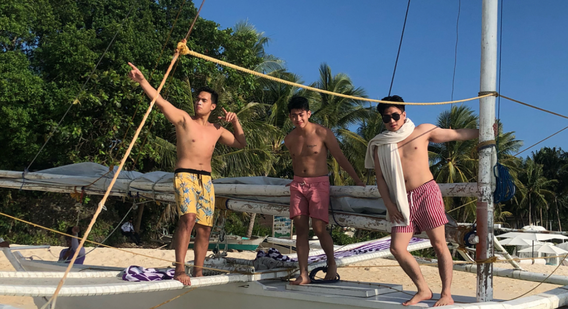 Boracay is on a six month shut down, except for a selective few