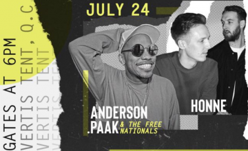 This is not a drill: Karpos Live brings Anderson .Paak, HONNE, and local acts together