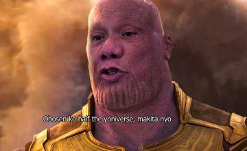 "Nancy Binay: ""I am the wife of Thanos"""