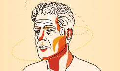 How Anthony Bourdain taught young depressed creatives like me to…