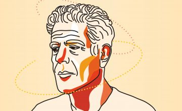 How Anthony Bourdain taught young depressed creatives like me to be brave