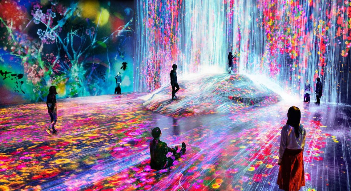 This digital museum in Tokyo takes an unearthly spin on museums