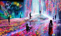 This digital museum in Tokyo takes an unearthly spin on…