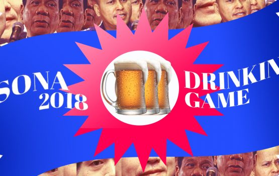 We made a SONA 2018 drinking game
