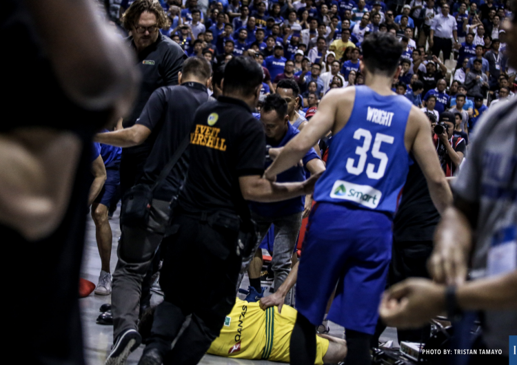 Gilas forgot we're here for basketball, not wrestling