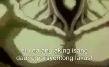 "Someone uploaded whole episodes of Tagalog-dubbed ""Ghost Fighter"""