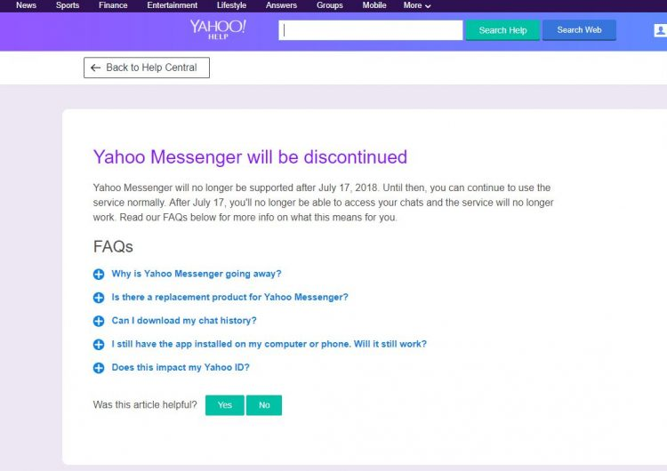 "A farewell to ""BUZZ!"", our eulogy for Yahoo Messenger"