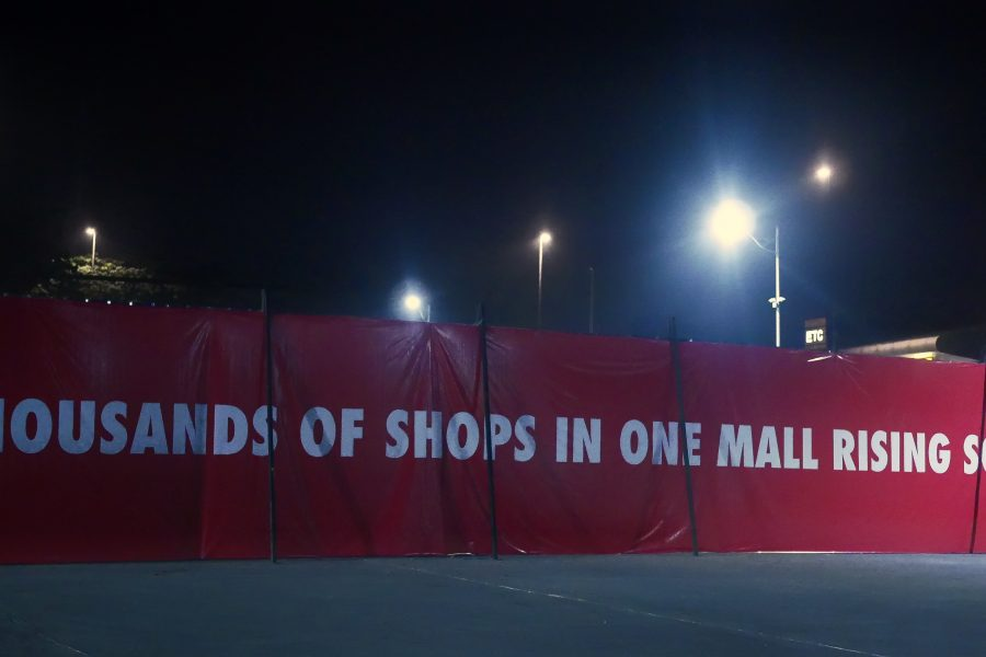 "There is a ""Godzilla"" of malls opening in Manila soon"