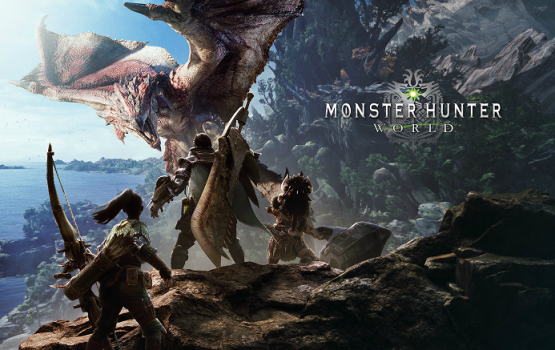 I can't freakin' wait for Monster Hunter: World