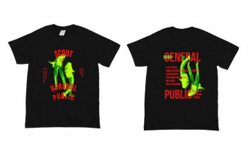 Pre-order your SCOUT General Public Shirt now
