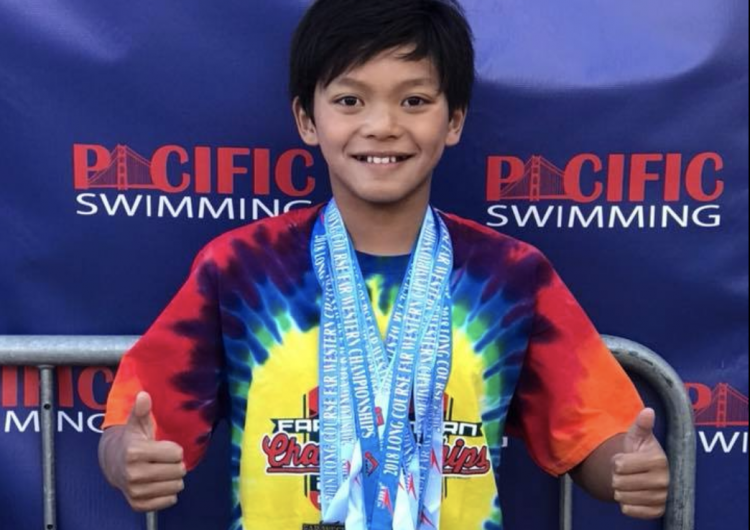 This 10-year-old kid named Clark Kent just beat Michael Phelps' swimming record