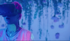 """See the synthetic fantasy of No Rome's """"Saint Laurent"""" MV"""