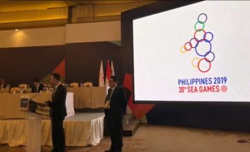 What does the 2019 SEA Games logo look like?
