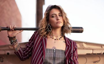 Paris Jackson is the new face of this global brand—and its pretty punk chic