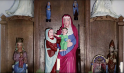 This new art restoration fail has Jesus committing sins against…