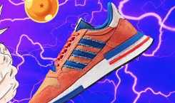 Adidas and Dragon Ball Z will make the ultimate sneakers…