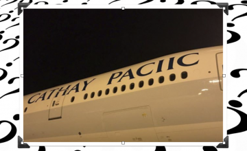Cathay Pacific releases rare one-plane airline