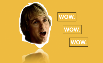 "Ateneans chant Owen Wilson's legendary ""Wow"""