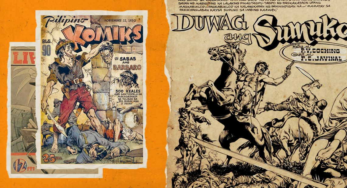 This exhibit explores the golden age of Filipino comics
