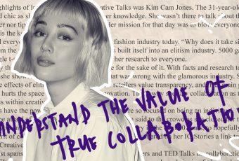 Take a peek at Kim Cam Jones' reading list from Creative Talks