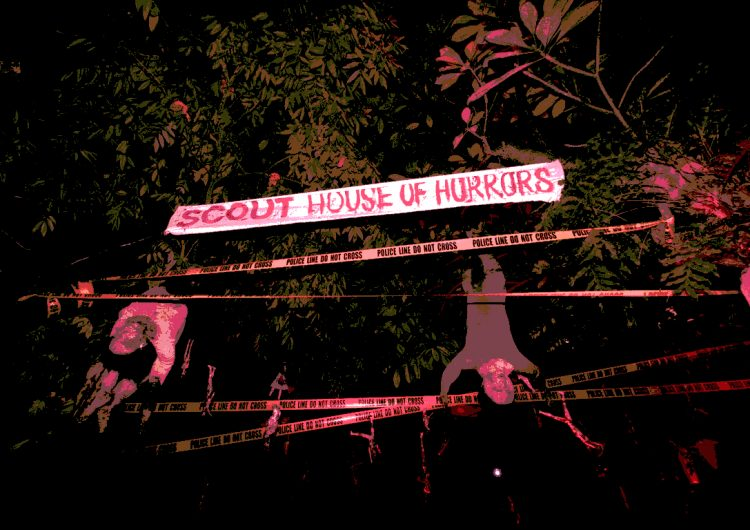 We captured all the ghouls and ghosts of House of Horrors on cam