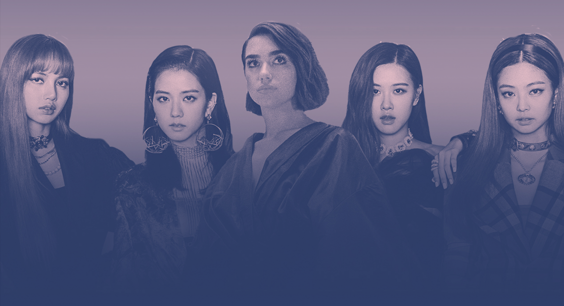 Dua Lipa and Blackpink are taking over Spotify because why not