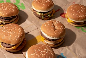 We tried two new burgers in the McDonald's secret menu