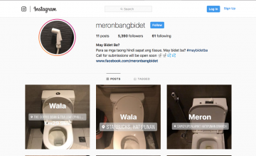 Happy Bidet: This Instagram account gives us comfort room reviews