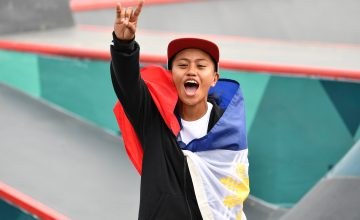 Filipino skateboard star makes it to TIME's 25 most influential teens