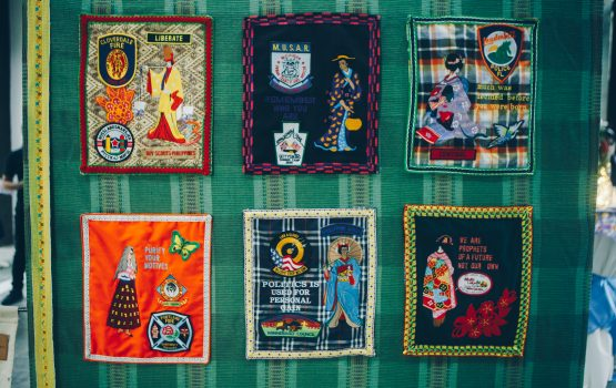Kids, we need to meet this Bacolod textile artist who weaves wake-up calls