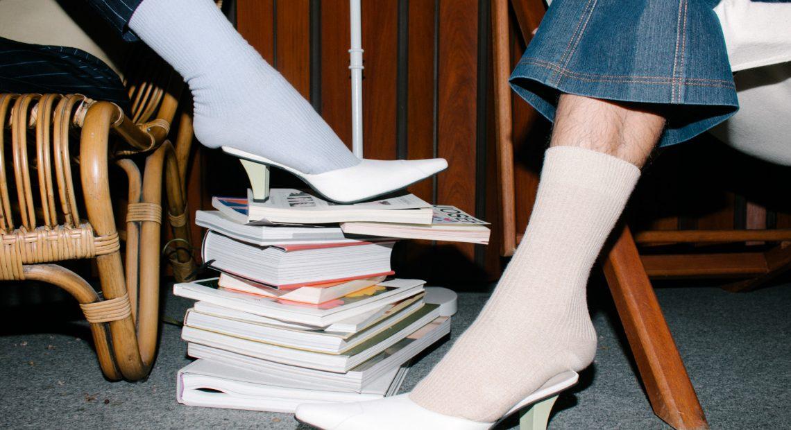 Boys explore the wonderful heels of Studio Josanna